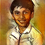 Naveed Portrait Deep Art